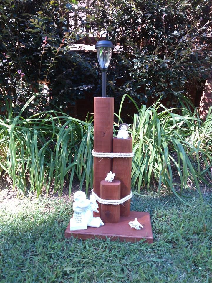 Angels Solar Light Stand