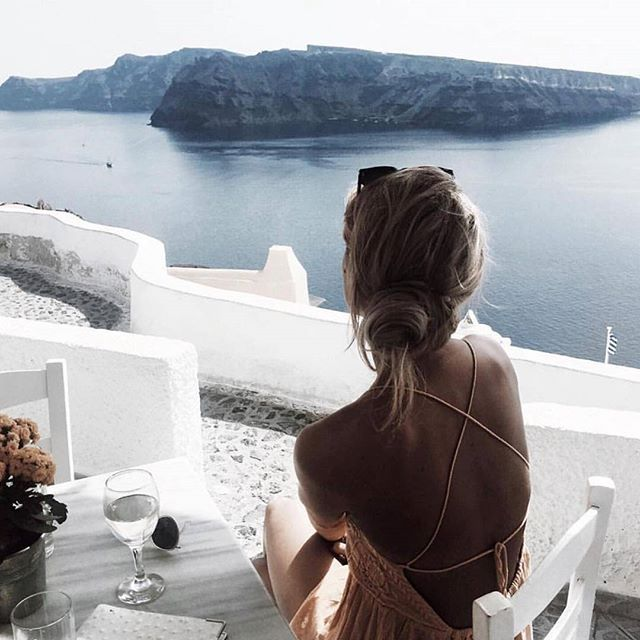 @Santorini  #fashion #style #stylish #love #me #cute #photooftheday #nails #hair #beauty #beautiful #instagood #instafashion #pretty #girly #pink #girl #girls #eyes #model #dress #skirt #shoes #heels #styles #outfit #purse #jewelry #shopping