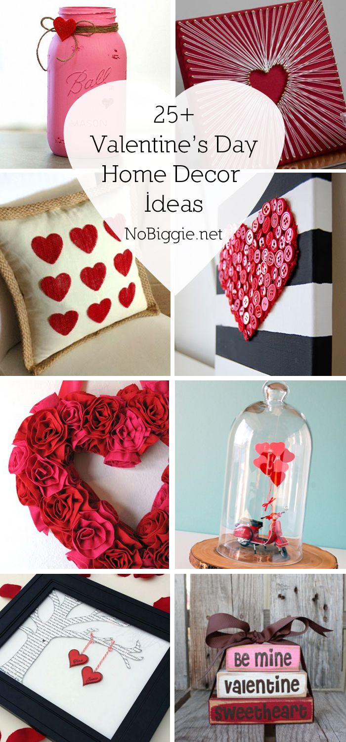 25+ Valentines day home decor ideas | NoBiggie.net