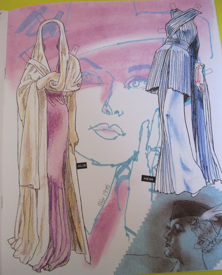 COUTURE Volume 2: ALLURING FEMININE FASHIONS OF THE 1930s Paper Doll Book - $12.00 | PicClick