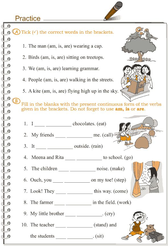 Worksheets One Thousand Sentence Of Simple Present Tense 1000 images about ingles on pinterest grammar lessons present grade 3 lesson 8 verbs the continuous tense