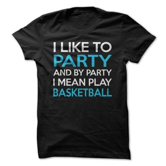 Basketball Party Shirt - #gift ideas for him #gift for teens. TRY => https://www.sunfrog.com/Sports/Basketball-Party-Shirt.html?68278