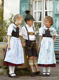 Kinder- und Jugendtrachten :: Chiemgau Alpenverband