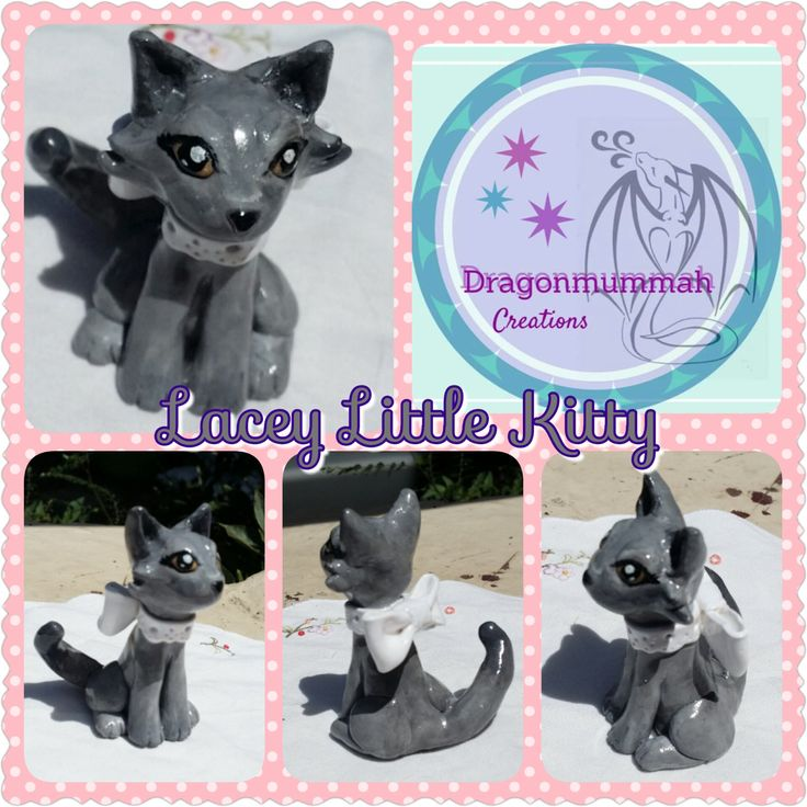 Lacey Little Kitty by DragonmummaCreations on Etsy