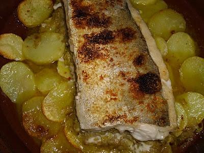 Merluza rellena de puerro, al horno: Frutos De, Fruit Of