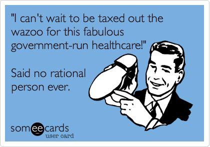 #obamacare: Politics, American Voter, Romneyryan2012, Ecards Funny, Truths, Obamacar Getsom, Obama Care, Healthcare But, Liberalism