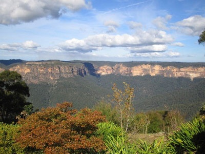 Blue Mountains, west of Sydney.  We lived here for 10 years.  Fond memories, gorgeous part of God's amazing creation.