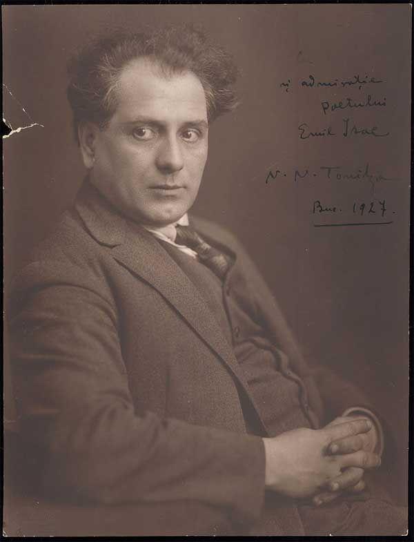 """Câteva dintre gândurile unuia dintre marii pictori români. """"Sunt născut în Bârlad, în anul 1886, luna aprilie, în 13, Strada Ștefan cel Mare numărul 341. Un târg cu 8.000 de locuitori, două g…"""