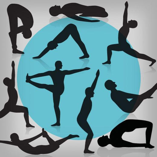 Try these poses from Baron Baptiste, yoga pro and former assistant coach for the Philadelphia Eagles