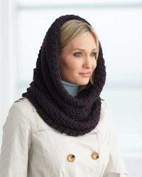 Crochet Cowl Hood