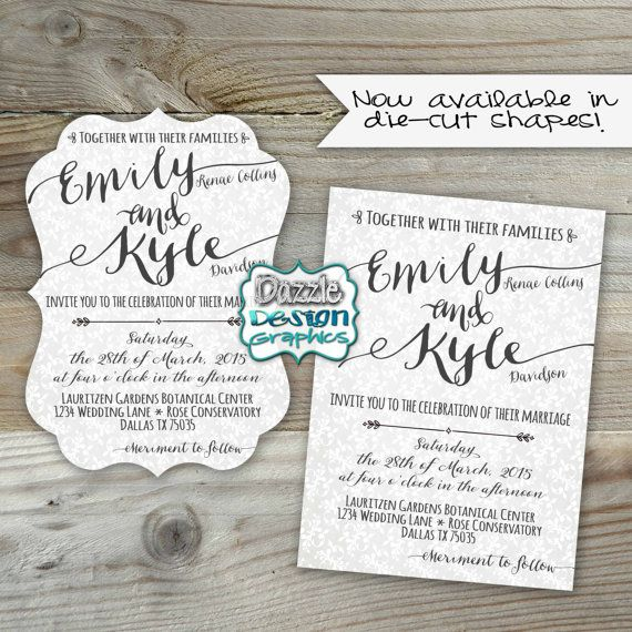 Best 25+ Casual Wedding Invitations Ideas On Pinterest