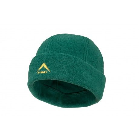 The K-Way fleece beanie is made of thermalator fleece designed to keep ears and heads warm especially through the cold winter season.