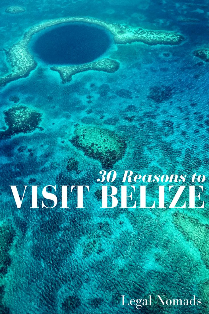 30 reasons to visit Belize in Central America - including the Mayan ruins and the Great Blue Hole
