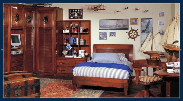 Dětský pokoj ideální pro malé námořníky http://www.saloncardinal.com/thumbnails/4fc77a72-2f90-4368-81db-68602e696b7c/950x700