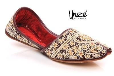 28903b78cdd3 Men Slip On Traditional Indian Khussa Shoes For More Detail Visit Us At ▻   Unze London Uk only on £24.99
