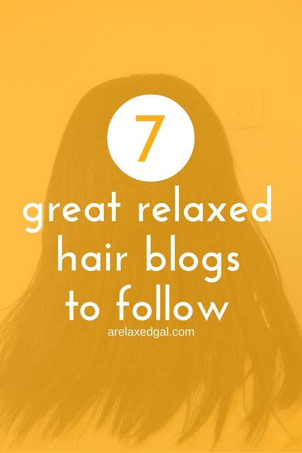 Looking for tips and info on caring for relaxed hair? Here are 7 great relaxed hair blogs that you can follow @ARelaxedGal http://www.arelaxedgal.com/2016/02/great-relaxed-hair-blogs-to-follow.html