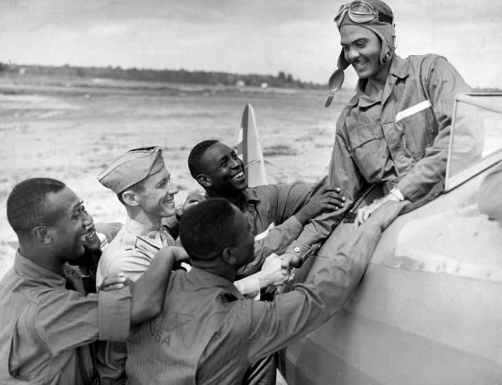 On this day in 1941, the Tuskegee Airmen were activated for training. (Gabriel