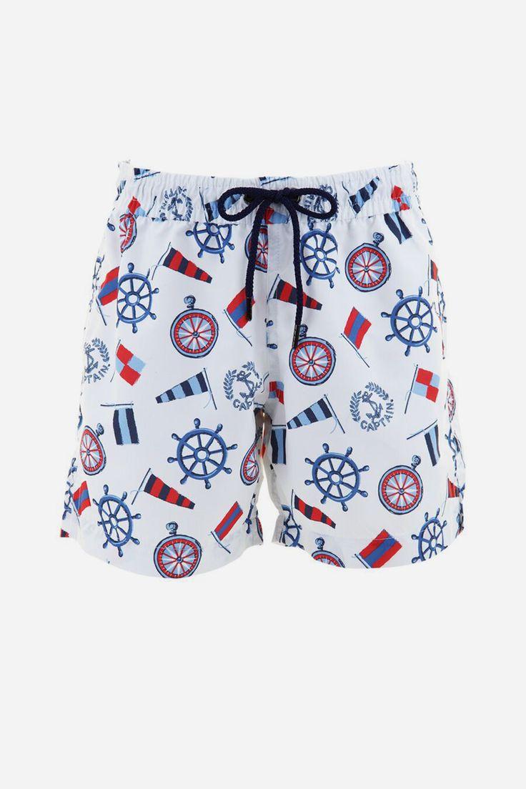Sunuva Captains Swim Short
