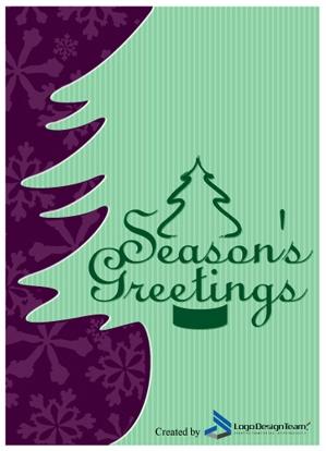 Christmas Card by http://www.LogoDesignTeam.com