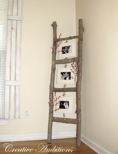 40 Rustic Home Decor Ideas You Can Build Yourself, stable enough to hang clothes on?