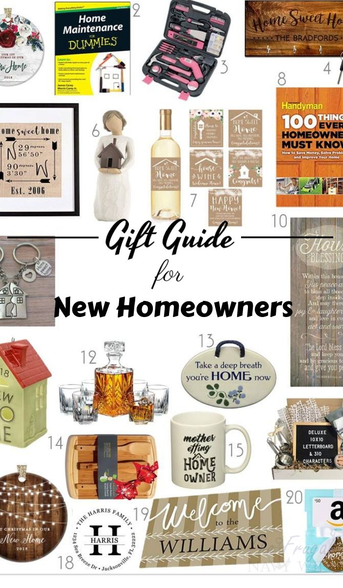 20 Top Gift Ideas For New Homeowners The Frugal Navy Wife New Homeowner Gift Best Housewarming Gifts Homeowner Gift