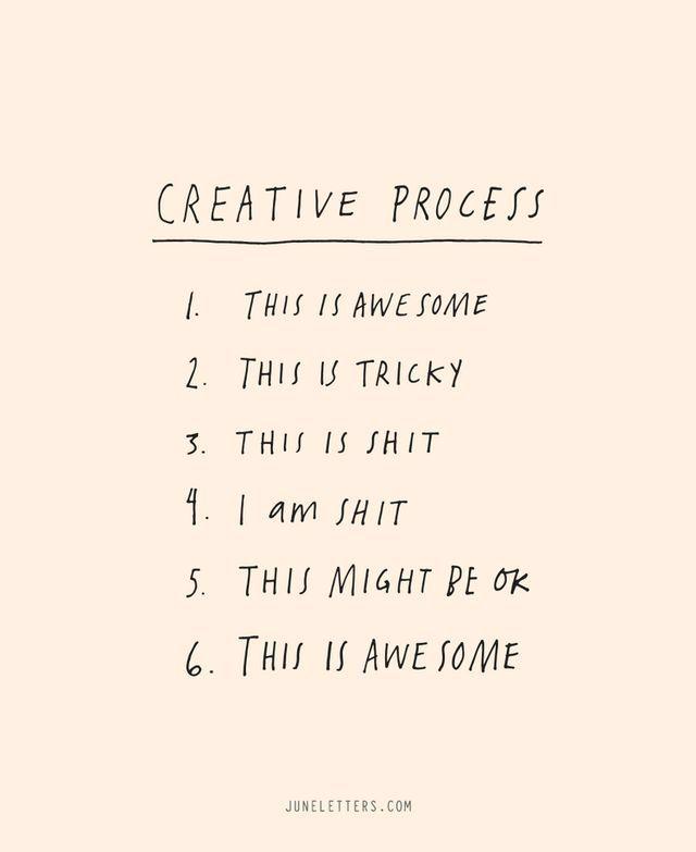 Needing Monday inspiration? You're not alone..... #mondaymotivation #inspiration #creativity #creativeprocess