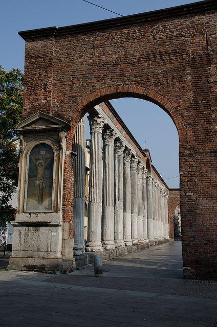 Colonne di san Lorenzo. Milano