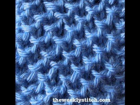 Blanket Rib Stitch - YouTube