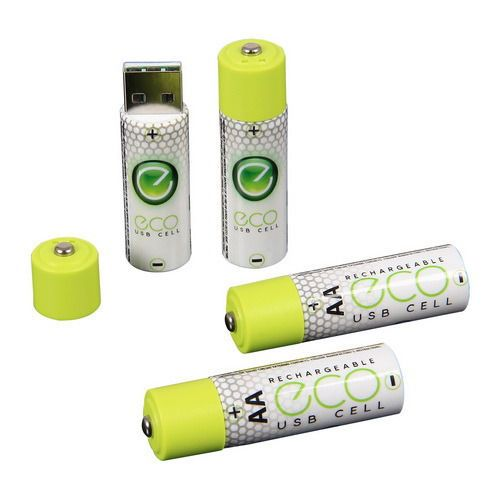 Usb Rechargeable Aa Aaa Batteries If You Have Hand Held Radios And Flashlights These Little Marvels Can Sav Usb Rechargeable Batteries Usb Rechargeable