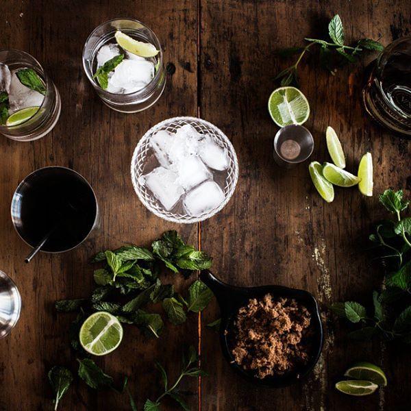 Post-lunch refreshments.  #mojito #mojitos #mojitotime #mojitomadness #mojitomonday #cocktailhour #cocktailtime #cocktail #refreshing #mint #lime