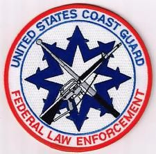 U. S. Coast Guard - Federal Law Enforcement patch