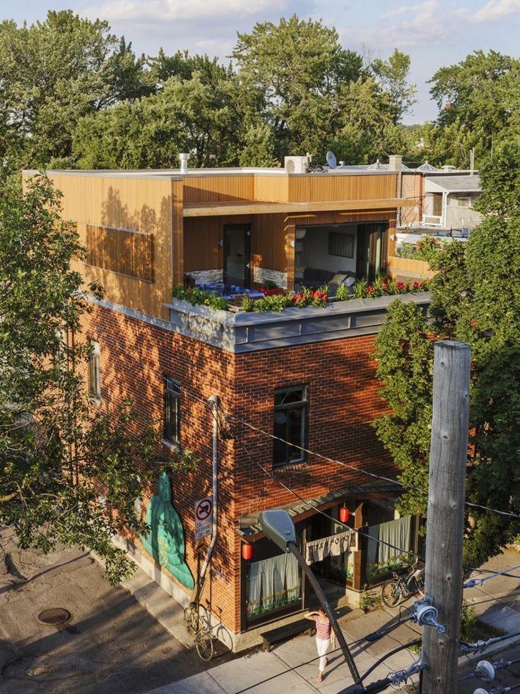 MU #Architecture Design An Apartment Above A Restaurant — #Montreal #Canada via @contemporist