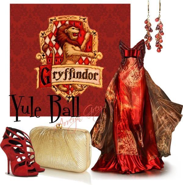 해리포터 그리핀도르 드레스