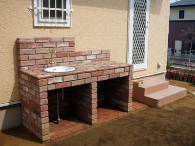 ガーデンシンクをdiyでお洒落に。作り方やデザインをご紹介します | iemo[イエモ]