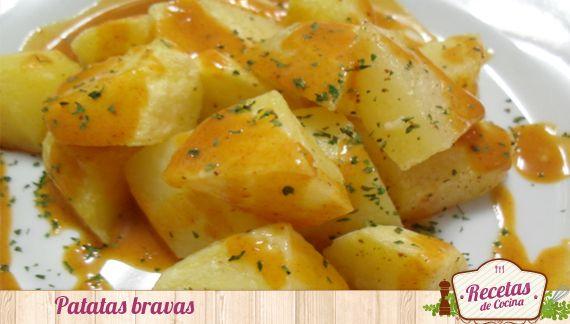 patatas bravas 3 Receta de patatas bravas, tapa típica española