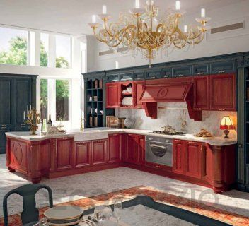 #kitchen #design #interior #furniture #furnishings комплект в кухню Cucine  Lube Pantheon