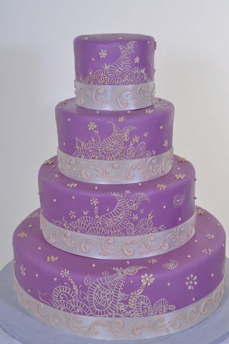 Mehndi Cakes London : Best indian wedding cakes creative