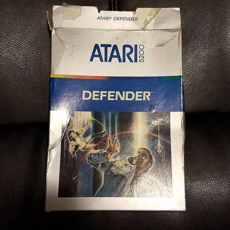 Gorgeous! shared by bkenney_ #atari5200 #microhobbit (o) http://ift.tt/1TkCuGo to #1982 . Defender for Atari 5200 was hands down one of the most faithful arcade-to-console translations of the time and all around kick-ass game. Check out that cover art.  #tbt #tbts #throwback #1980s #80s #videogame #videogames #Atari #Atari5200 #5200 #console #retro #cartridge #defender #Williams #vintage
