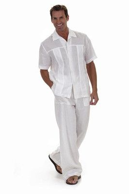 Resort Beachwear Elan Pants for Men Linen | eBay