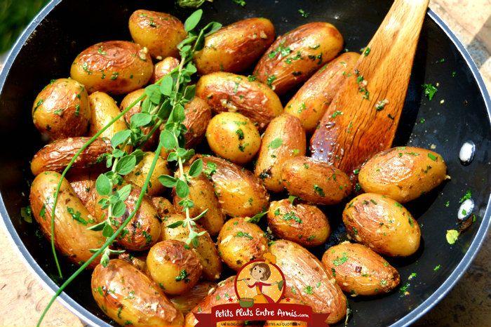 Pommes De Terre Grenaille Sautées Petits Plats Entre Amis Pomme De Terre Grenaille Cuisson Pomme De Terre Recettes De Cuisine