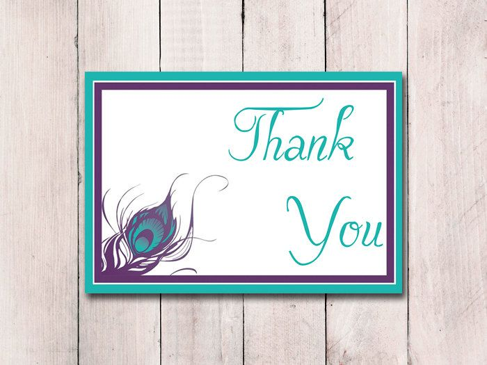 The 25 best Thank you card template ideas – Wedding Thank You Cards with Photo Insert