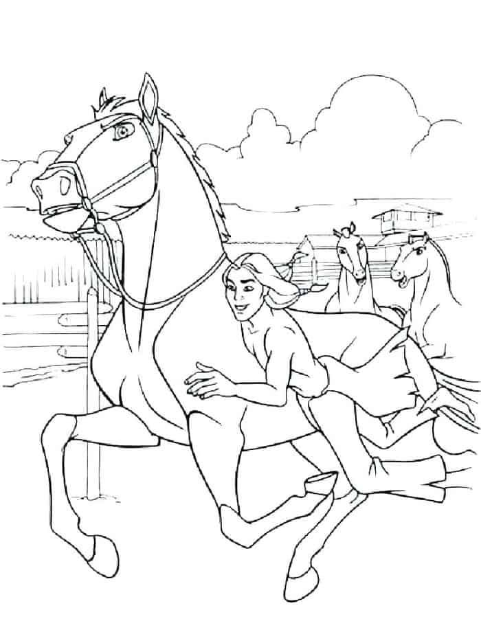 Horse Coloring Pages For Older Kids Horse Coloring Pages Horse