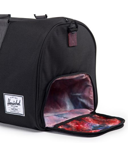 Herschel Supply/ハーシェル・サプライ - Northern Lights コレクション - Novel (ノベル) ダッフルバッグ (Black/Kaleidoscope ブラック/カレイドスコープ) Duffle Bag Aurora - ファッション通販セレクトショップ SIAMESE/サイアミーズ