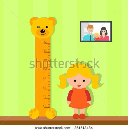 Kid Measuring Height Stock Images, Royalty-Free Images & Vectors ...
