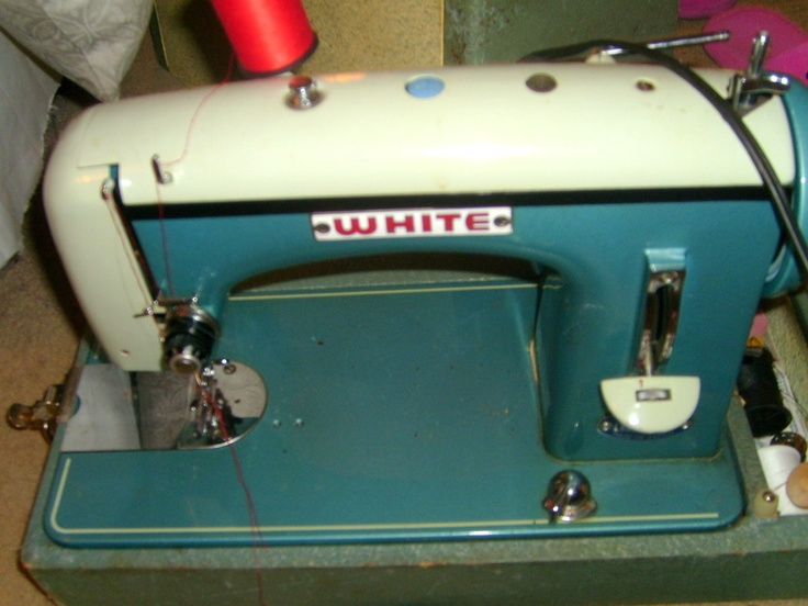 white rotary sewing machine model 43 manual