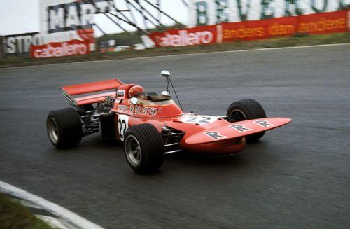 Skip Barber, March-Ford 711, 1971 Dutch GP, Zandvoort