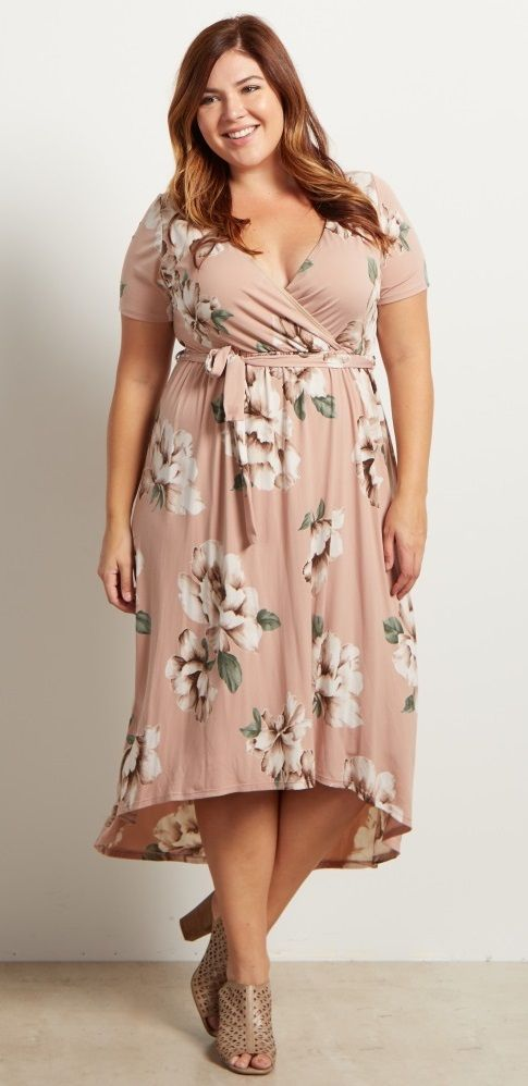 If this is a breathable rayon, sign me up!!! So flattering, a lovely color, and very feminine. This is a dress made for curves.
