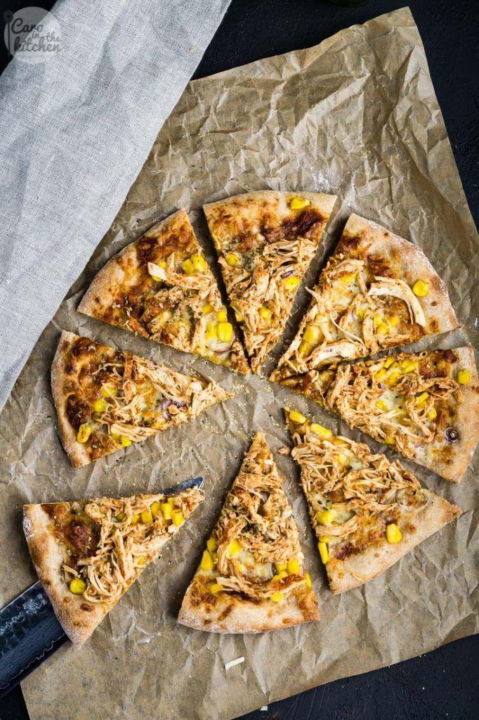 Rezept für no-knead Pizzateig aus Dinkelvollkornmehl mit über-Nacht Gare; für eine dünne Pizza wie vom Italiener mit dünnem Boden und luftigem Rand.