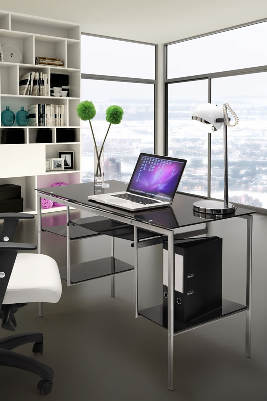 post glass home office desks. Take Pride In Your Workspace With A Contemporary Home Office Desk From Modern Digs. These Desks Boast Perfect Blend Of Style And Quality! Post Glass