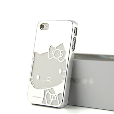 'Chrome Luxe' Hello Kitty iPhone 4 Hard Case avail. on www.theredbow.cA